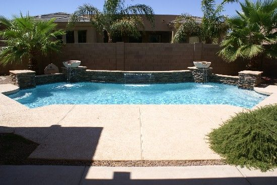 I Really Like This Shape Amp Stacked Stone Accent Swimming