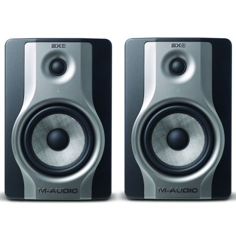 M Audio BX6 Carbon (Pair) Compact Studio Monitors
