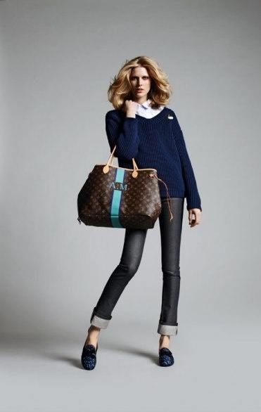 Louis Vuitton....love the painted monogram