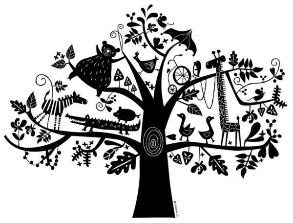 :) animals on tree Art Print: Trees Art, Joanne Liuyunn, Trees Prints, Animal Paper Cut, Children Illustrations, Art Prints, Graphics Design, Illustrations Animal, Design Stuff