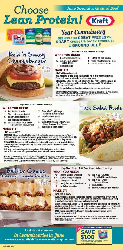 Recipes ground beef kraft