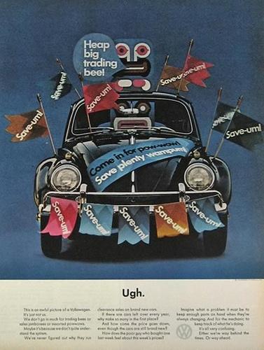 1964 Volkswagen VW Beetle Ad