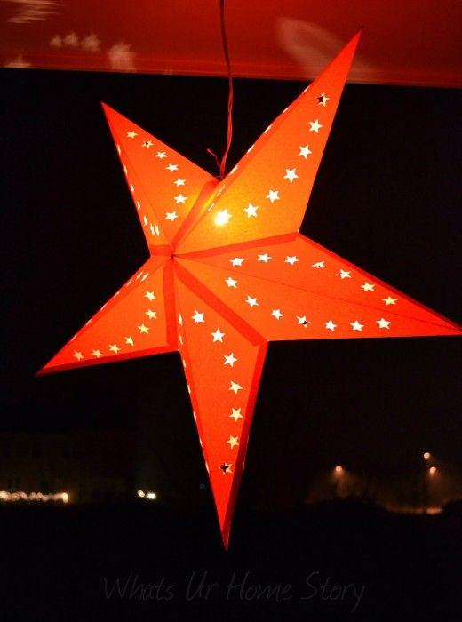 Outside home decor star