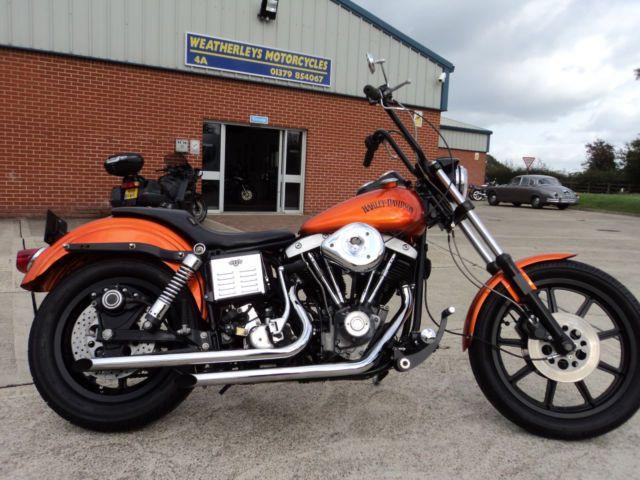 1981 Harley-Davidson LOWRIDER 1340 SHOVELHEAD LOOK AT THE PICTURES DONE NICE For Sale Harleston, United Kingdom | AutoMotoClassicSale.com