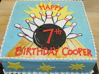 Bowling Birthday Cake | by hainesbarksdale