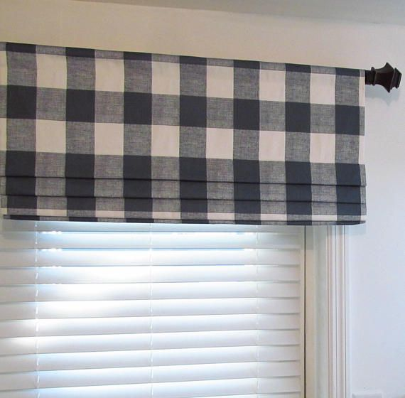 This Listing Is For One Faux Roman Shade In Your Choice Of Width Up To 52 And Length Up To 20 Including 2 1 2 Rod Pocket Faux Roman Shades Roman Shades Valance