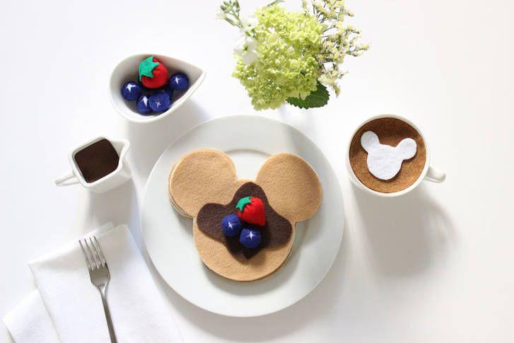 Mickey Mouse Pancakes Felt Craft