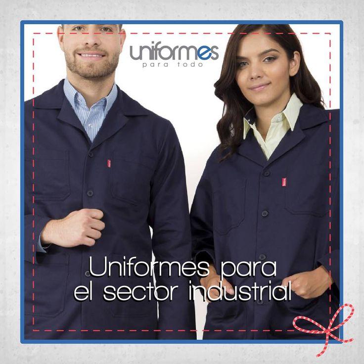 Delantales y uniformes para trabajadores industriales. Encuentra más en www.uniformesparatodo.com