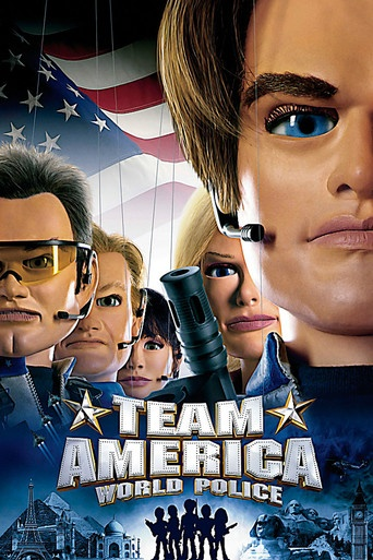 Team America-a great marrionette mo0vie-like the thunderbirds of tv long ago. great plot incorporating current events-of sorts and the old american we can do it attitude. 5