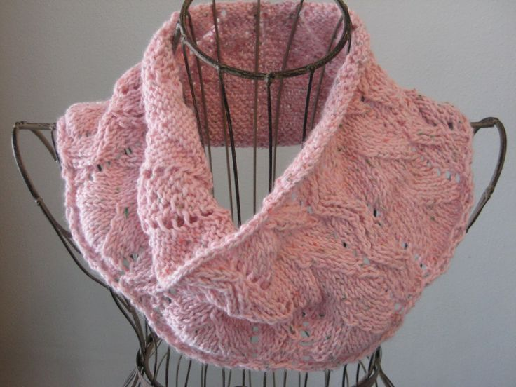 Balls to the Walls Knits: Rustic Lace Cowl