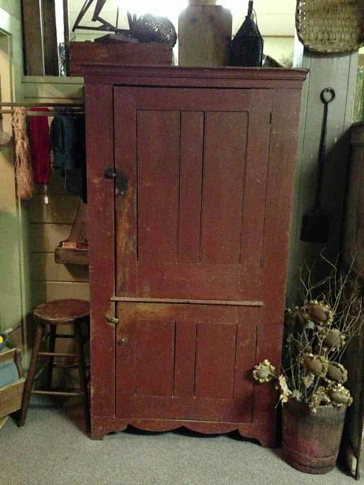 334 best images about primitive wood cabinets on