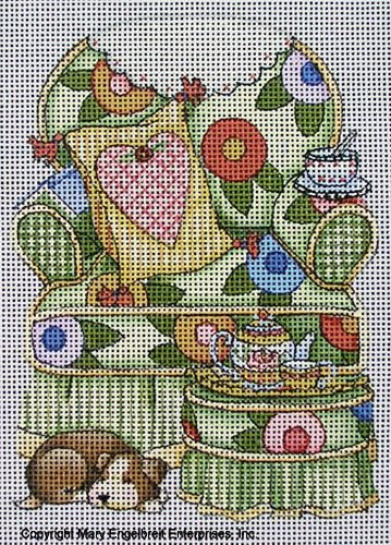 Needlepoint Canvas: Care Chair