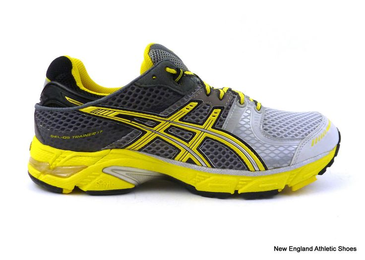 Asics women's Gel-DS Trainer 17 training shoes size 12 Titanium Flash Yellow #ASICS #RunningCrossTraining