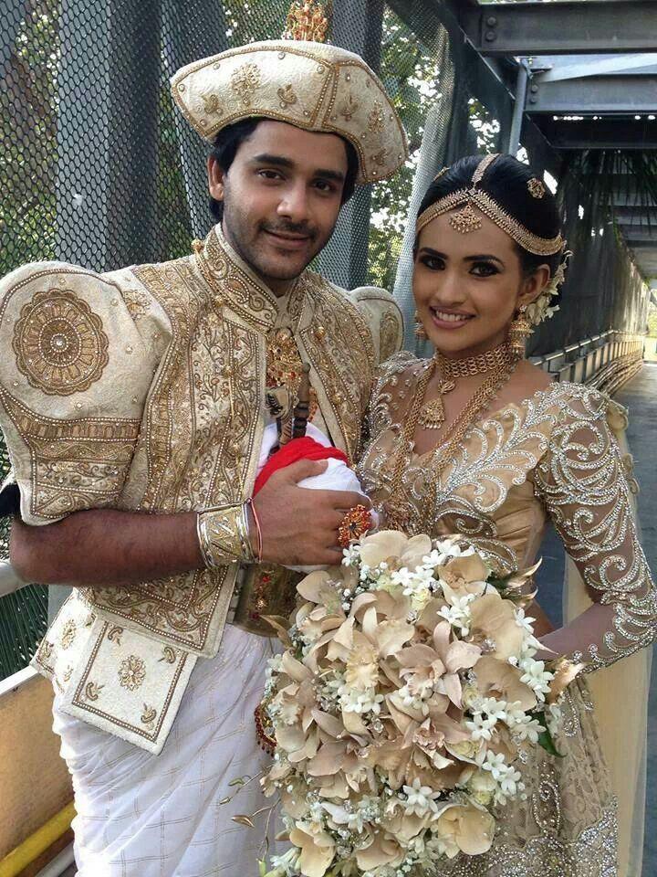 Sri Lankan Wedding  Sri Lankan Wedding  Saree Wedding -3036