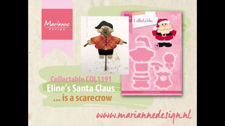 How to make a Scarecrow of the COL1391 Santa Claus by Eline