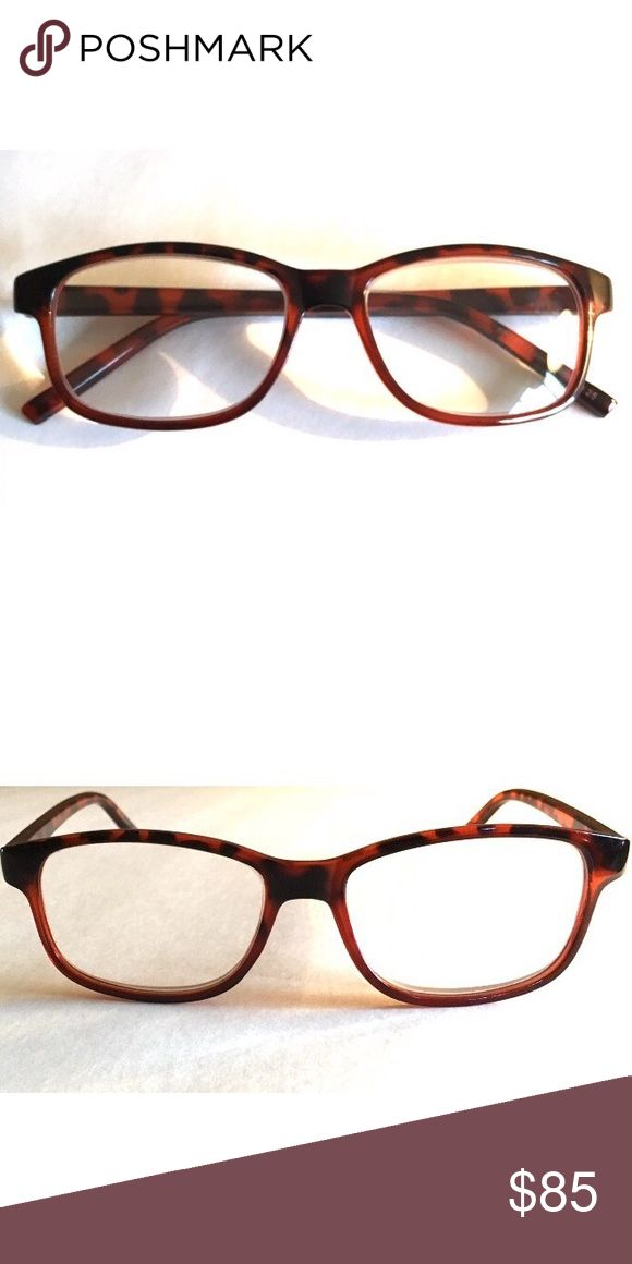 Prescription eyeglasses +375 Dark turtle prescription eyeglasses +375. There are no scratches. Comes with case. FREE Fragrance sample with Every order ✌🏽️📦 Accessories Glasses