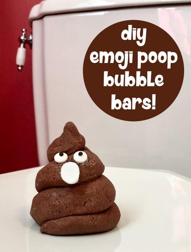 DIY Poop Emoji Bubble Bars | DIY Bath Bomb Recipes | DIY
