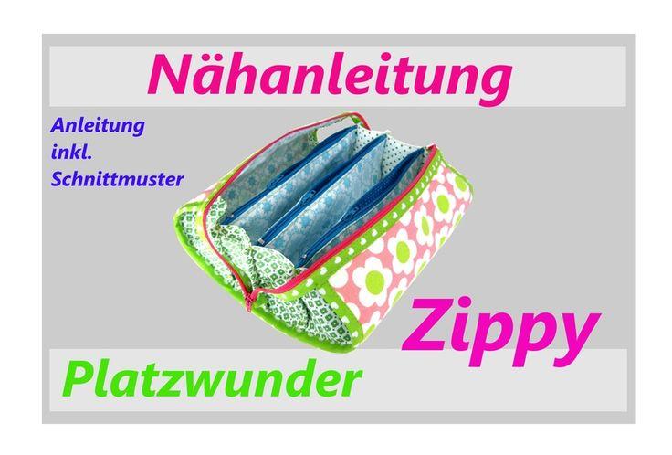 eBook Nähanleitung Fächertasche Tasche 7 Fächer von AZIN-ART auf ...