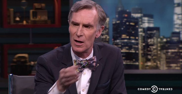 Bill Nye doesn't pull punches when asked if racism has any basis in nature. #BillNye