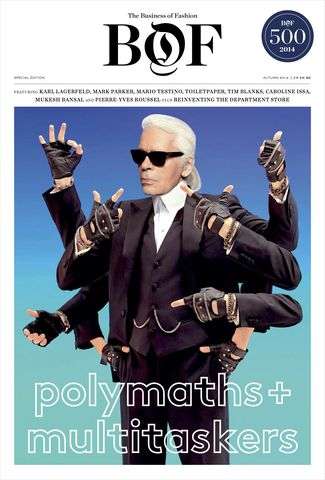Just ordered it! The BoF 500 2014 Polymaths & Multitaskers