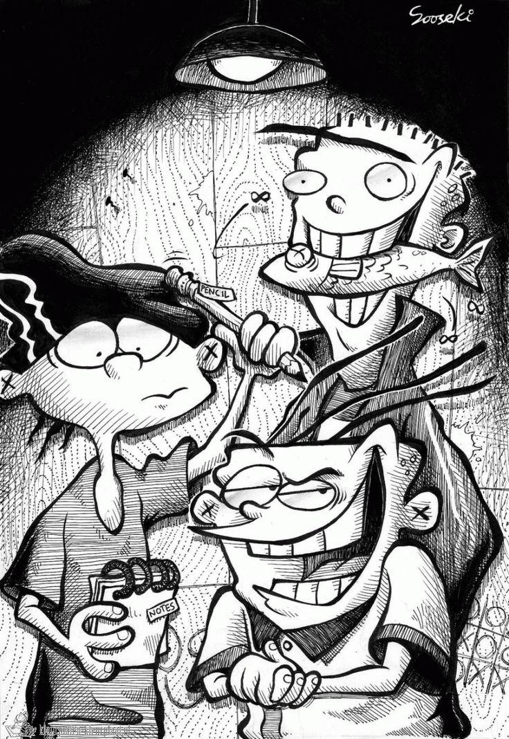Ed, Edd, n' Eddy (BEST show from 90's Cartoon Network)