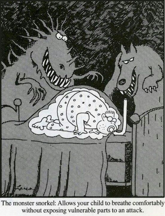 Image result for far side cartoon with werewolf