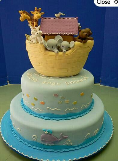 Noahs Ark Cakes on Best Noah 39 S Ark Theme Images On Pinterest