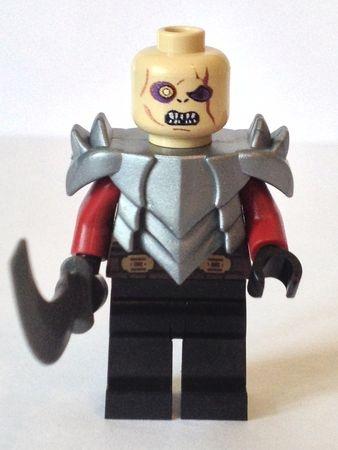Gothmog Orc General of Saurons Mordor Army Custom Minifigure. Lego People LotrSuperheroesArmyMilitaryArmies