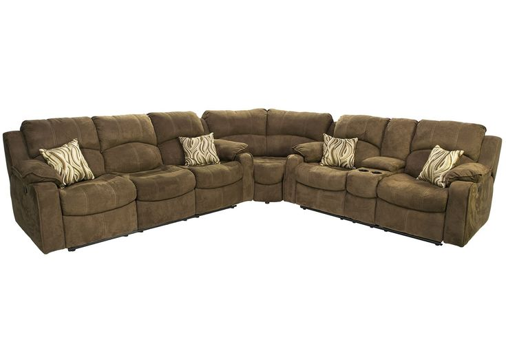 Tornado Chocolate Reclining Sofa Reclining Loveseat Sectional Sectionals Living Room Mor