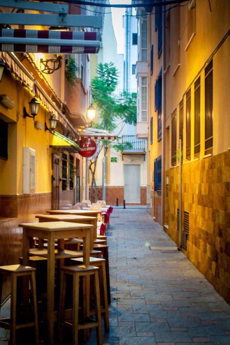 Cosy Alley in Fuengirola, Spain