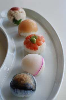 temari sushi, balls of wonder