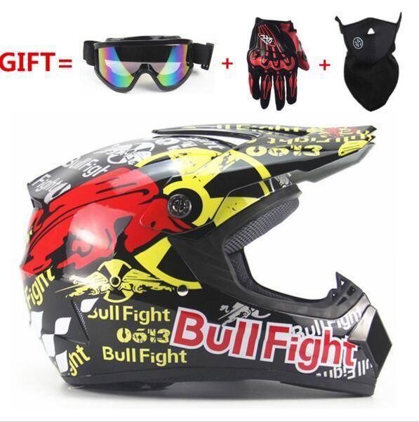 [Visit to Buy] Motorcycle ATV helmet mens moto helmet top quality casco capacete motocross off road motocross Racing helmet DH MTB DOT #Advertisement