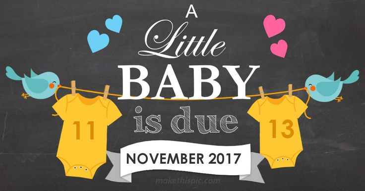 Get week by week and specific information for my estimated due date, 11/13/2017!
