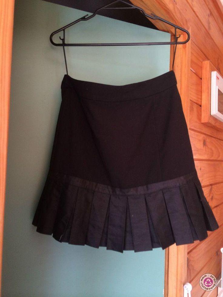 Clotheswap - ASOS Pleated Hem Skirt