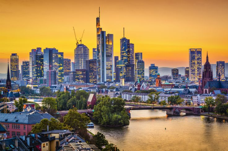 Situated on the Main River in the middle of Germany, Frankfurt is a major financial and transportation centre. Frankfurt is the seat of the European Central Bank and the Frankfurt Stock Exchange.