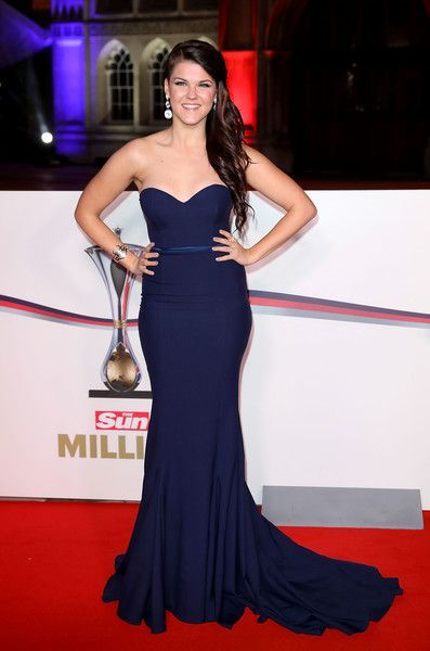 Saara Aalto attends The Sun Military Awards at The Guildhall on December 14, 2016 in London, England.