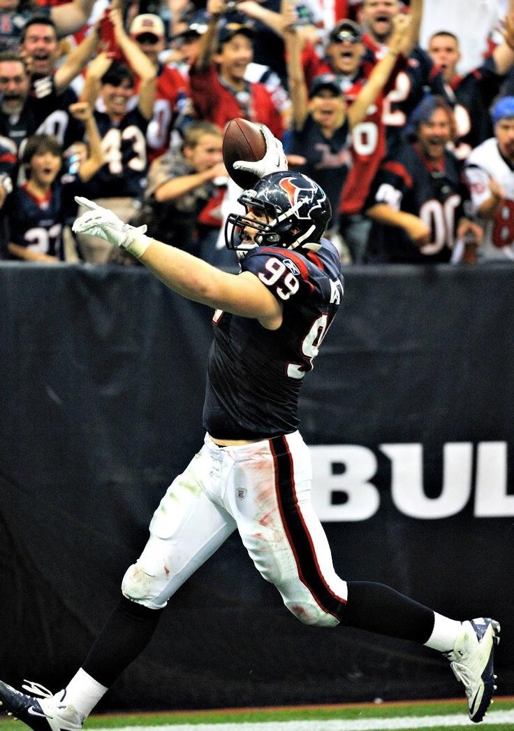 J.J. Watt, Houston Texans