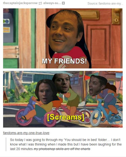 Supernatural / Lilo & Stitch - This truly made my day 100x better