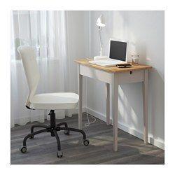 NORRÅSEN Bord til bærbar computer, grå - grå - IKEA