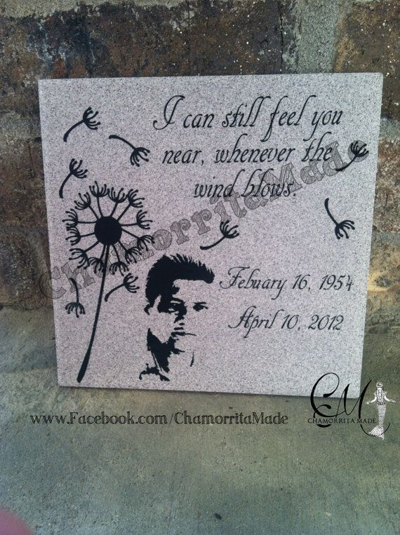 46 best memorial gifts images on pinterest remembrance quotes personalized memorial tiles by chamorritamade on etsy 2000 solutioingenieria Choice Image