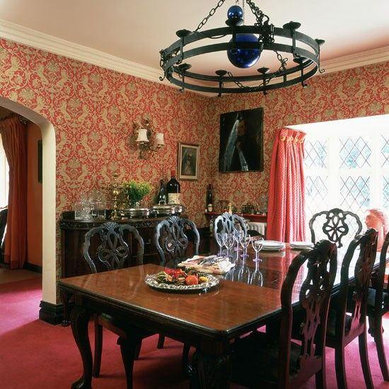 Red Dining Rooms Collection Captivating 2018