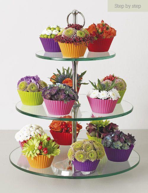 flower arrangements in unusual containers | Book Review of Flower Arranging by Judith Blacklock | Flowerona: