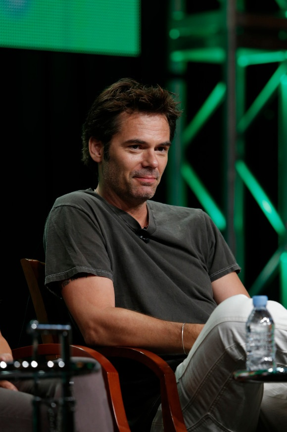 """NBCUniversal Press Tour July 2012 -- """"Revolution Session"""" -- Pictured: Billy Burke -- (Photo by: Chris Haston/NBC) 2012 NBCUniversal Media, LLC #Revolution"""