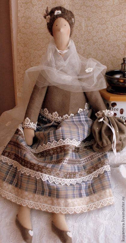 Куклы Тильды ручной работы. Ярмарка Мастеров - ручная работа Гляссе. Handmade.