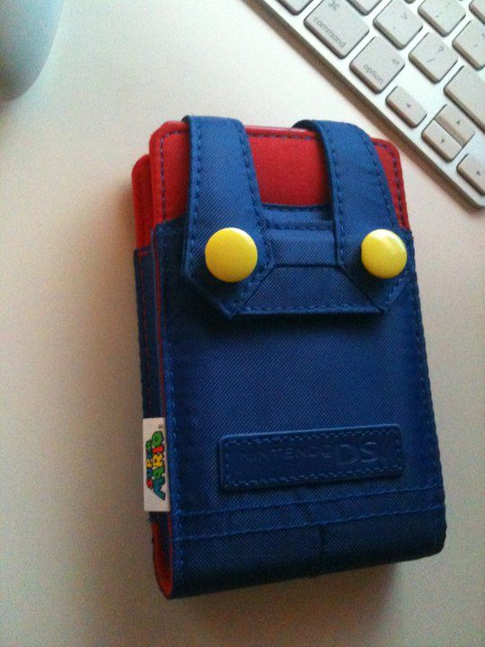 Nintendo DS cover.....cute cute cute! Cool cool cool!