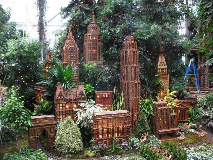 12 best fs 2016 train gardens images on pinterest holiday train show botanical gardens and for Bronx botanical garden train show