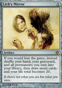 Lich's Mirror, Magic, Shards of Alara