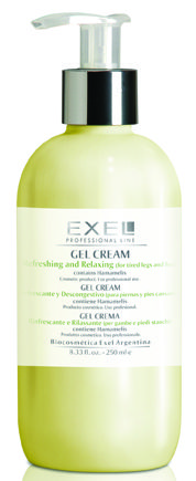 Do you suffer from tired, sore legs and feet? Formulated with Troxerutin, Exel Refreshing and Relaxing Gel Cream gives relief while repairing blood vessels to minimise the appearance of spider veins and reduces swelling.