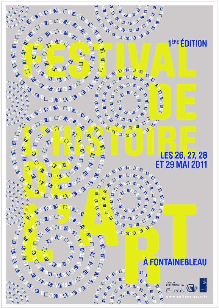 festival de l'histoire de l'art poster ✭ graphic design
