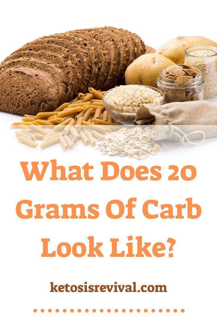 20 Gram Carb Meal Plan